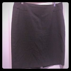 The Limited grey pencil skirt size 10